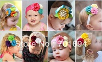 Wholesale - -girls hair bow hairbows hairbands felt hairbows new style 20pcs/lot