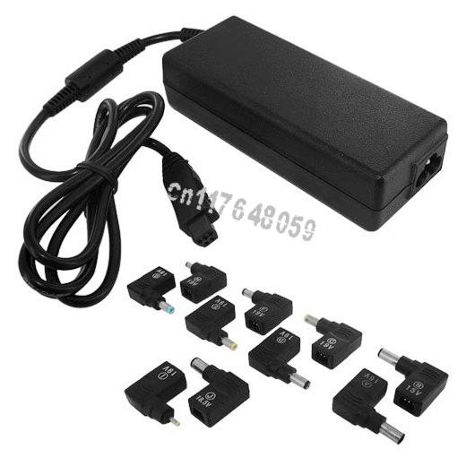 100W 15-24V Smart AC/DC Universal Desktop & Laptop power adapter,charger,19V 5.5X2.1,4.8X1.7,5.5X1.0,5.5X1.7,4.0X1.7,2.3X0.7(China (Mainland))