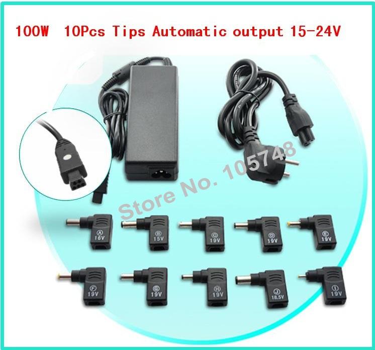 100W 15-24V Smart AC/DC Universal Desktop & Laptop power adapter,charger,19V 5.5 x 2.5 For Gateway/Acer/Dell/IBM/Hitachi/Sharp(China (Mainland))