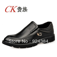 2013 new, men, 100% first layer of leather, apartments, business, leisure shoes, fashion, men leather shoes, shipping