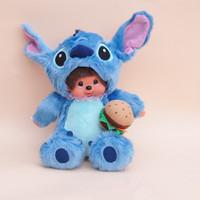 WJ107 Fashion Lovely Plush Stuffed Monster Doll Animal Toy Monchhichi Multiple Style 25 CM Supernova Sale Baby Birthday Gift