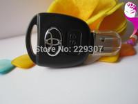 Retail genuine 2G 4G 8G 16G 32G usb drive pen drive usb flash drives memory stick disk car key shape plastic Free Drop shipping