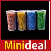 rising stars [MiniDeal] 100PCS Micro Tip Brush Applicators Eyelash Lash Extensions Cleaning & Removal Hot hot promotion!