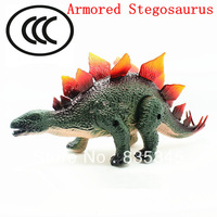 100% non-toxic toys Armored Stegosaurus Simulation Dinosaur Electric toys / Have Sound, lighting, can walk + Free shipping