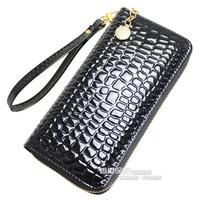 high quality women zipper wallet  100% genuine + PU leather purse lady shoulder messenger bags female Handbag  keys bag wallets