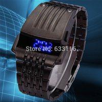 free & drop shipping 1pcs retail 2014 new fashion gift hot sales ladly girls popular women Mobile phone bluetooth wrist watch