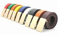 Hot-selling Men's Belt ,Fashion Faux Leather Shape Metal Mens strap man Ceinture Buckle Belt free shipping