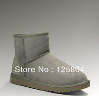 Free Shipping Canada Fashion Runway Women Fur Snow Boots ur Snow Boots Australia Brand GG Genuine Leather Brand Fur boots 5854