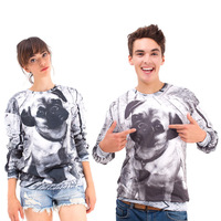 New Fashion 2013 Women/Men The dog   Pullovers Funny 3d sweatshirts  animal  galaxy sweaters Hoodies top