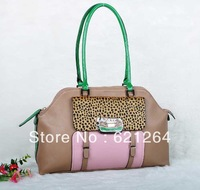 2013 Fashion Handbags Hit Color Leopard Print Bags
