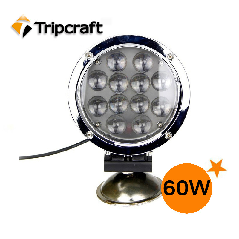 7 INCH 60W CREE LED LAMP WORK SPOT FLOOD FOG LIGHT FOR OFFROAD MACHINERY 4WD ATV SUV USE LED DRIVING LIGHT(China (Mainland))