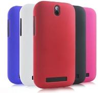 1pcs/lot Hybrid Slim Matte Hard Case for HTC Desire SV T326E Shell Cover Skin with black,blue,purple,red
