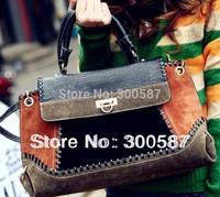 Free shipping! Hot sale High Quality Shoulder Bag women's fashion handbag Leather Messenger Bag Designer Brand Handbags BAF013