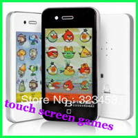Free Shipping Children simulation touch screen mobile phone puzzle game Children kids toy