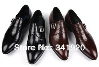 2013 Classic Men's casual business Genuine Leather Shoes Best quality formal oxfords with cow leather shoes Free Shipping