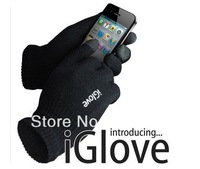 2014 Free shipping 1pair IGlove Screen touch gloves(four colors) with High grade box Unisex Winter for Iphone touch glove