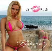 European New Arrival Super Sexy Women's Cotton Bikini Set Fashion Hot Beach Wear For Women Free Shipping