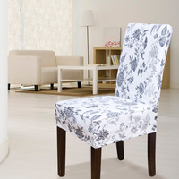 AQ Fashion 100% cotton canvas  one piece chair cover dining chair set professional customize  good workmanship f22