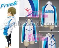 Free! Iwatobi Swim Club Haruka Nanase Iwatobi High School Uniform Cosplay Costume