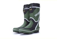 Nail slip-resistant wear-resistant male boots gaotong water shoes rubber shoes fishing rain boots