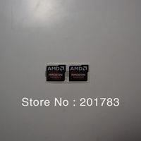 Free shipping!! NEW Original 2pcs AMD RADEON GRAPHICS sticker 20x16MM