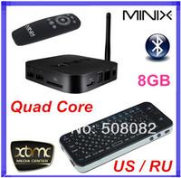 [Russian air mouse KP-810-16A]MINIX NEO X7 mini Android TV Box Quad Core RK3188 2G/8G WiFi HDMI USB RJ45 SD Optical XBMC Mini PC
