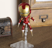 Free Shipping New Arrival The Avengers Q Iron Man 3pcs/set High Quality PVC Action Figure Toys Dolls Approximately