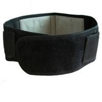 Magnetic tourmaline self heating belt waist support for the treatment of lumbar disc lumbar muscle strain
