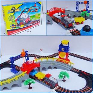 Small electric train thomas train toy train track railway toy trucks and trailers rail train railway toy railroad