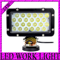 Free Shipping 7.5'' 8pcs*3W LED working 2400LUM 24W LED Work light for AVT Offroad Truck JEEP LED Driving LAMP Spot/Flood Beam
