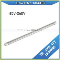 20pcs/lot 110V T8 LED TUBE 18W 4FT 1200MM TUBE lighting Made in china AC100V 110V 220V 230V 240V