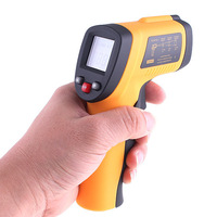 1Pcs Non-Contact Laser Body Surface Infrared Digital IR Thermometer -50~380 Degrees GM300 DropShipping