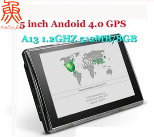 "Freeshipping GPS Navigation 5 inch WIFI 8GB Android 4.0 Allwinner A13 1.2GHZ SDRAM 512MB Q88 5""Car GPS Navigator 99%sale(China (Mainland))"