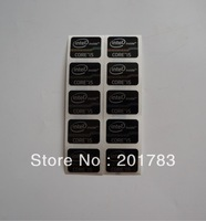 NEW Original 10pcs CORE i5 Black sticker 21x16MM