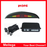 Free shipping PZ305 park sensor parking system with led display and alarm