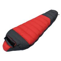 High quality sleeping bag (-40degree),mummy camping sleeping bag,1800g down sleeping bag,  free shipping