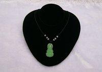 Jrwelry Display Props Necklace Holder Pendant Bust  Horizontal Black Velvt Portrait Stand Mannequin