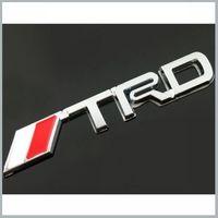 1 X TRD Car Hood Front Grill Badge Logo Emblem Sticker for Car  SUPRA PRIUS VOIS COROLLA MK5