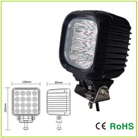 48W CREE LED 4.7 INCH  Automotive driving light,  off road light ,led work light Square Frame