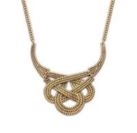 Retro Ethnic Weave Short Necklace Fashion Vintage Statement Necklace BJN901022