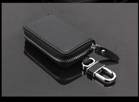 2014 Fashion 100% Genuine Leather men/women car key bag high grade Unique Lovers key wallets key case with Key chain HYX196