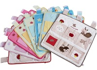 Baby storage bag diaper bag baby bed bag baby storage chromophous bundle