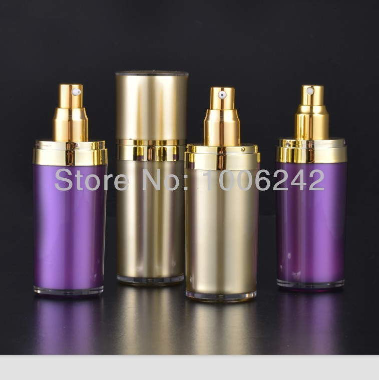 80ml golden cone round bottles,cosmetic bottle,spray bottle,refillable perfume atomizer bottle,cosmetic containers(China (Mainland))