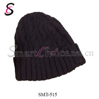 5Pcs/Lot 2013 Men's Baggy Jacquard Weaved Wool Knit Hats For Winter