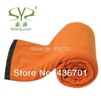 envelope style fleece sleeping bag adult sleeping bag spring and summer travel sleeping bag liner sierran blanket free shipping