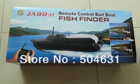 Free Shipping wholesale  2013 version of Jabo 2BL black RC Sonar Fish finder Bait Boat