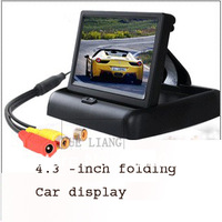 Lcd tv stand&Mirror monitor&Central multimedia&Mini monitor for video&Tv tft digital&2013 new&4.3 tft lcd&Carmonitor&4.3players