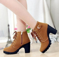 2013 new high-heeled women's boots thick with casual boots thick crust muffin 888 Martin boots wholesale authentic