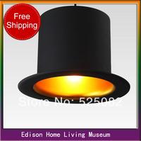 2013 innovative items 110v 220v e14 E14*1 lamp holder D260*H170mm Top hat chandelier lamps aluminum hat lights for home lighting