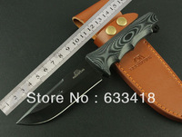 2014 Hto ROCKSTEAD 7Cr17Mov 58HRC Outdoor Hunting Knife Micarta